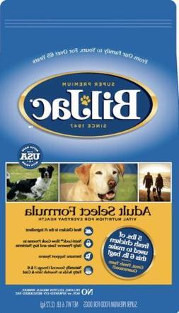 Bil Jac Dog Food ADULT Select 6 Lbs Fresh Real Chicken