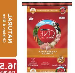 Purina Dog Food Adult Chicken & Rice Formula 16.5LB
