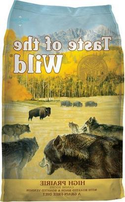 Taste of the Wild-Dog Food - High Prairie W/ Roasted Bison &
