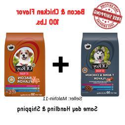 Dog Food Ol' Roy T-Bone & Chicken Flavor Dry Dog Food 2 bags