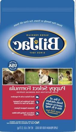 Bil Jac Dog Food PUPPY Select 6 Lbs real Chicken