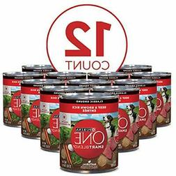 Dog food Purina ONE SmartBlend Canned Wet 13oz Beef & Brown