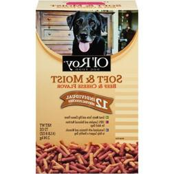 Ol' Roy Dog food Soft & Moist Beef & Cheese Flavor by, 72 oz