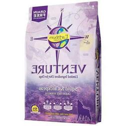 Earthborn Holistic Venture Dog Food Squid 12.5 lb Bag