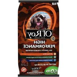 Ol' Roy Dog High Performance Food, 50 Lb