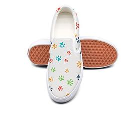 Dutte Lisa Men's Dog Paw Dog Lovers Gifts Casual Shoes Laces
