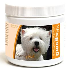 Healthy Breeds Dog Skin and Coat Supplement Omega 3 for West
