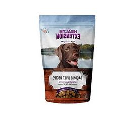 Health Extension Bully Puffs Dog Treat, Bacon and Liver