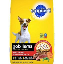 Dry Adult Dog Food, Complete Nutrition Grilled Steak Flavor