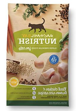 Rachael Ray Nutrish Natural Dry Cat Food, Chicken & Brown Ri