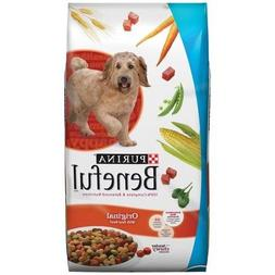Beneful 40 lb Bag Dry Dog Food, Originals with Real Beef, 10