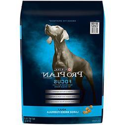 Purina Pro Plan Focus Large Breed Formula Adult Dry Dog Food