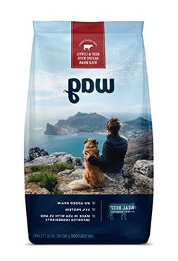 Wag Dry Dog Food Beef & Lentil Recipe With Wild Boar