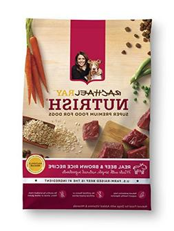 Rachael Ray Nutrish Natural Dry Dog Food, Beef and Brown Ric