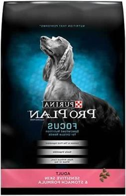 Purina Pro Plan Dry Dog Food, Focus, Adult Sensitive Skin &