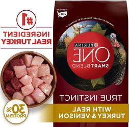 Purina One Dry Smartblend True Instinct Natural With Real Tu