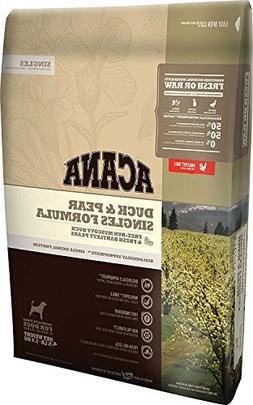 ACANA Duck & Pear Singles Formula Dry Dog Food 4.5 lb. Bag L