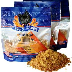 3 Pack - KONA'S CHIPS GOLD DUST 4 OZ Chicken Jerky Sprinkles