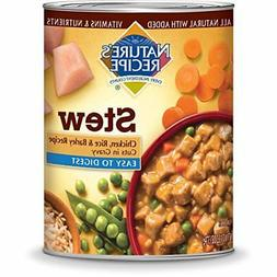 Nature's Recipe Easy to Digest Wet Dog Food, Chicken, Rice &