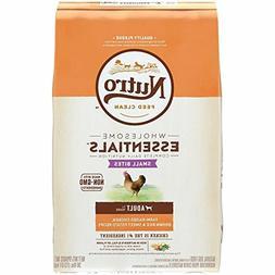 Nutro Essentials Small Bites Adult Farm-Raised Chicken,Rice