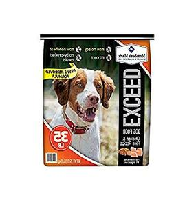exceed dog food
