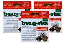 Excel Safe-Guard Canine DeWormer for Small Dogs Pack of 3
