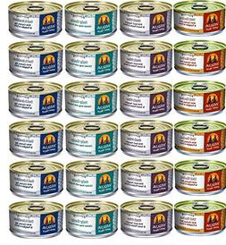Weruva 5.5oz Favorites Variety Canned Dog Food, 24 Pack
