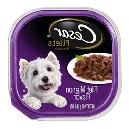 Cesar Gourmet Filets Wet Dog Food Filet Mignon Flavor,  3.5-