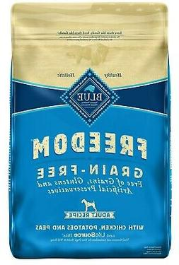 Blue Buffalo Freedom Grain Free Natural Adult Dry Dog Food,