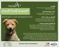 Doggie Stylz Freeze-Dried Beef Heart All Natural Dog Treats