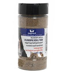 Fortipet Freeze Dried Raw Beef Liver Sprinkles Healthy Dog a