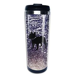 DDDi-Cup French Bulldog 3D Technology Stainless Steel Coffee