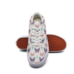 Keppel Teerd Women's French Bulldog Pattern Low Top Sneakers