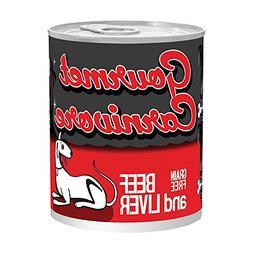 Tiki Cat Gourmet Beef/Beef Liver Dog Treat, 12/12 oz