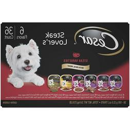 Cesar Gourmet Wet Dog Food Variety Packs - 24 / 36 PC 3.5 oz