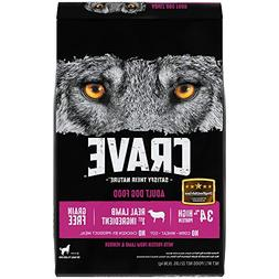 Crave Grain Free With Protein From Lamb And Venison Dry Adul