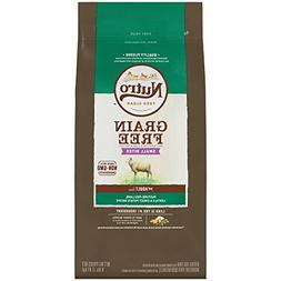 Nutro Grain Free Small Bites Adult Pasture-Fed Lamb, Lentils