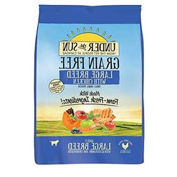 Under The Sun Grain Free Large Breed Adult Dog Food Made Wit