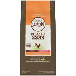 Nutro Grain Free Small Breed Adult Farm-Raised Chicken, Lent