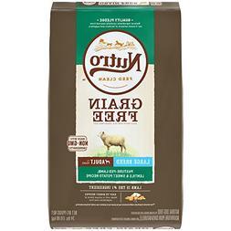 NUTRO Grain Free Large Breed Adult Pasture-Fed Lamb, Lentils