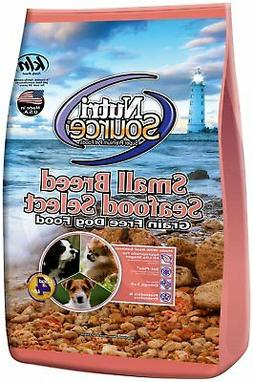 Nutri Source Grain Free Small Breed Seafood Select For Dogs,