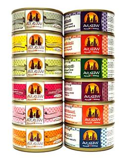 Weruva Grain Free Canned Dog Food Variety Pack - 12 Flavors