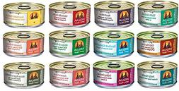 Weruva Grain Free Canned Dog Food Variety Pack, 5.5 oz Each,