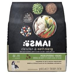 Iams GRAIN FREE NATURALS Adult Dog Chicken and Garden Pea Re