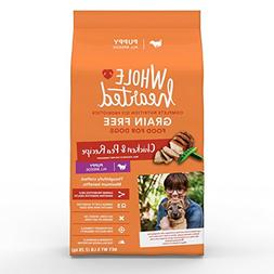 WholeHearted Grain Free Chicken and Pea Recipe Dry Puppy Foo