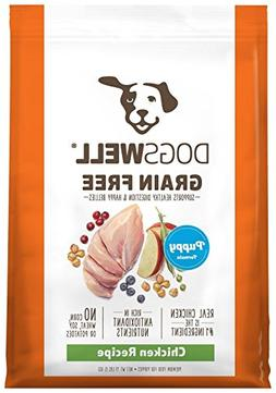 Dogswell Grain Free Chicken Puppy Formula Dry Dog Food, 1Pie