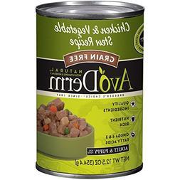 AvoDerm Natural Grain Free Chicken & Vegetable Stew Recipe C