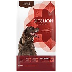 Holistic Select Natural Grain Free Dry Dog Food, Senior Chic
