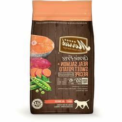 Merrick Grain Free Dry Dog Food Salmon & Sweet Potato, 4 / 1