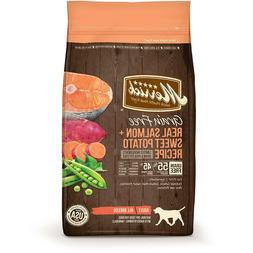Merrick Grain-Free Real Salmon & Sweet Potato Recipe Adult D